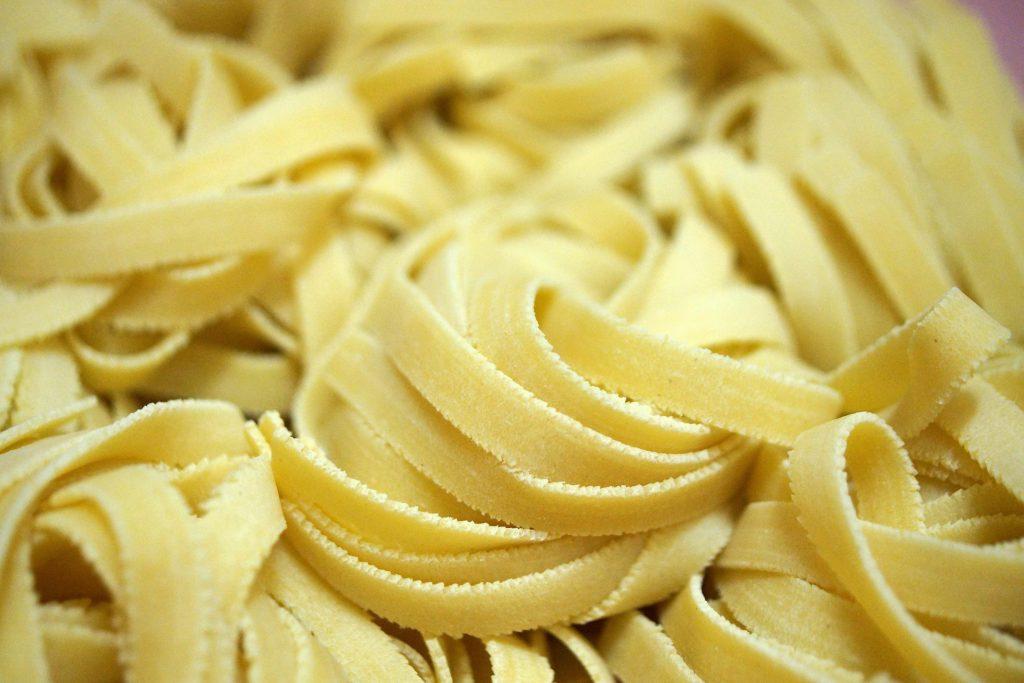 Hausgemachte Pasta im Ristorante Cellini.